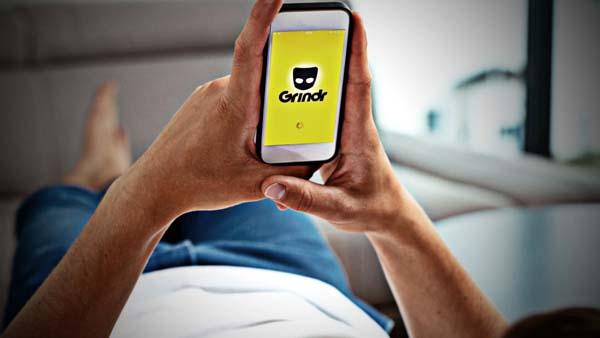 Grindr mobile app