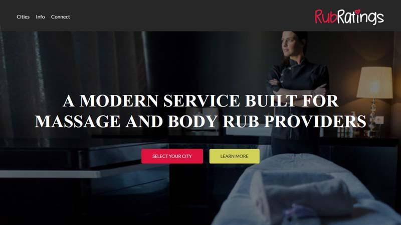 RubRatings erotic massage site